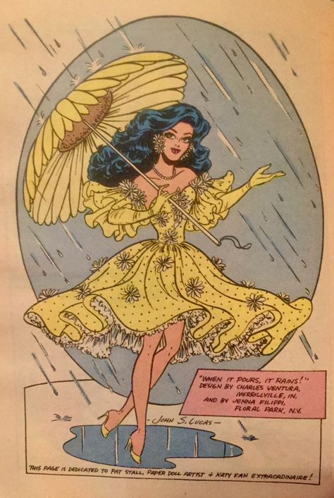 An homage to Katy Keene, created by Bill Woggon. This page is dedicated to the Katy of No copyright infringement intended. Vintage Cartoon, Vintage Comics, Cartoon Art, Archie Comics, Vintage Paper Dolls, Vintage Art, Retro Illustration, Illustrations, Drag