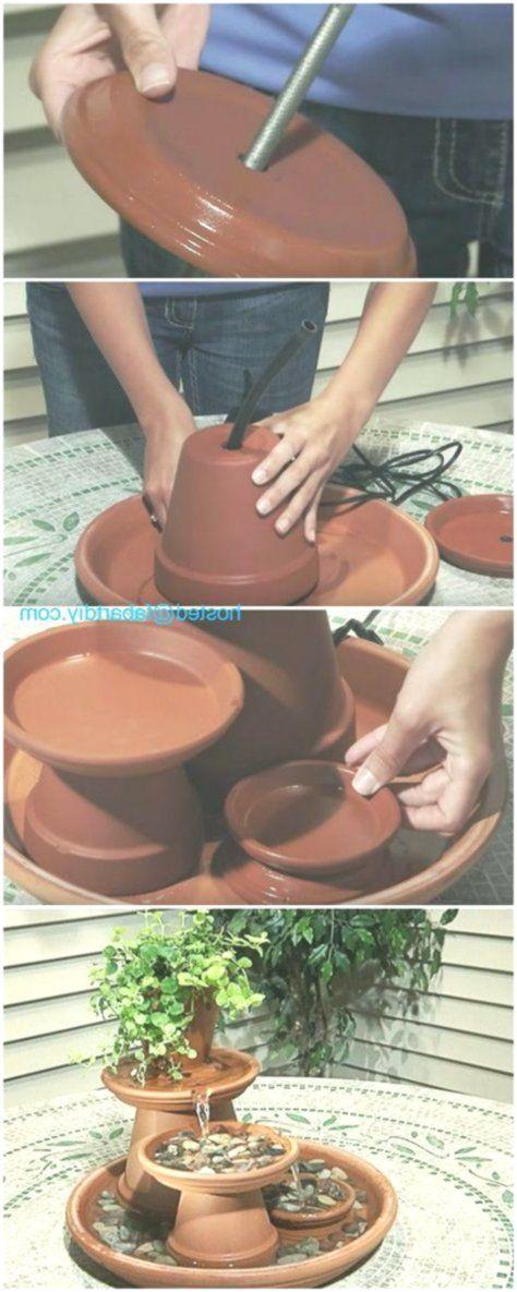 Diy Terracotta Tontopf Brunnen Projekte Tischwasserbrunnen