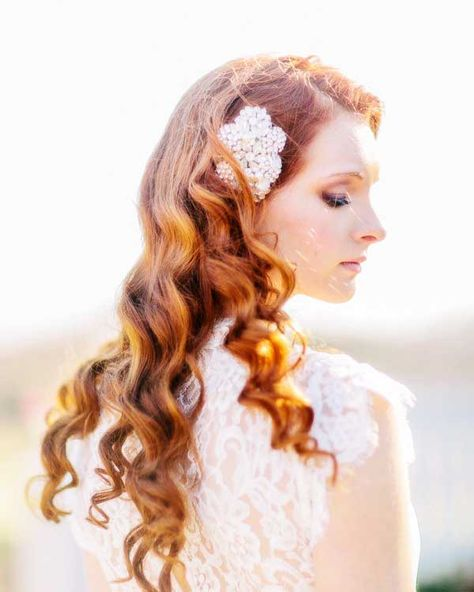 The Most Perfect Bridal Hairstyle With The Bridal Dress Best