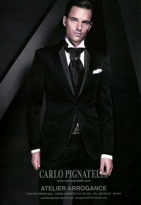Carlo Pignatelli Winter 2010 Lookbook is Filled With Stunning Suits  suits   mensfashion trendhunter.com 27639700213