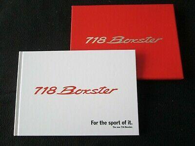 Ad Ebay Url 2017 Porsche 718 Boxster S Hardcover Brochure Type 981 2 982 Us Sales Catalog Porsche 718 Boxster Boxster S Boxster