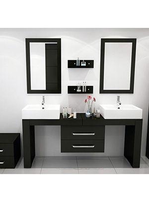 67 To 114 Scorpio Double Vessel Sink Vanity Floating Bathroom Vanities Vanity Sink Vessel Sink Vanity