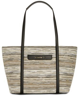 0d6b1537529 CALVIN KLEIN Calvin Klein Key Item Medium Tote. #calvinklein #bags #leather  #hand bags #nylon #tote #