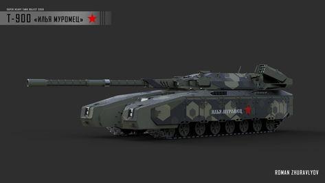 Ilya Muromets by Military Armor, Military Guns, Military Vehicles, Armor Concept, Concept Cars, Citroen H Van, Futuristic Armour, Battle Tank, Tank Design