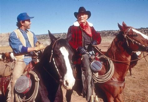 Billy Crystal And Jack Palance In City Slickers 1991 Jack Palance Best Supporting Actor Oscar 1991 City Slickers Movies Old Movies
