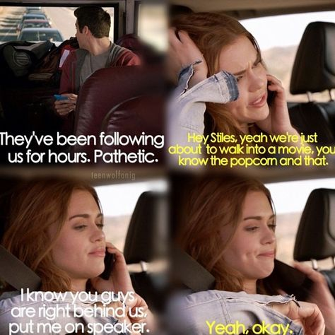 Oh, Lydia - Teen Wolf  I laughed so hard at that part!