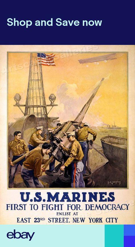 "24x36 1914 /""Learn To Ride/"" First Field Artillery World War I Recruiting Poster"