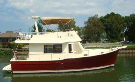 Mainship Trawler For Sale From Curtis Stokes Assoc Triple - Bolger micro trawler boats