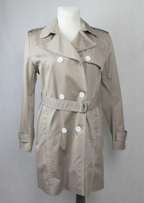 Gant O2. Classic Daunenjacke Gefütterte Jacke Blau Damen