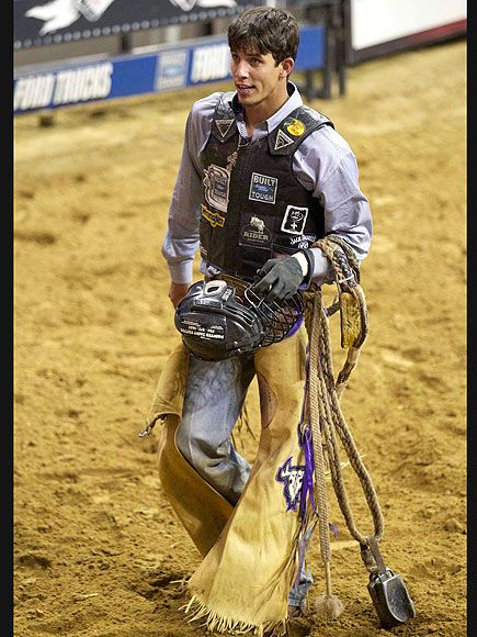 JB Mauney Bull Rider   2012 Professional Bull Riders Invitational at N.Y.C.'s Madison Square Garden