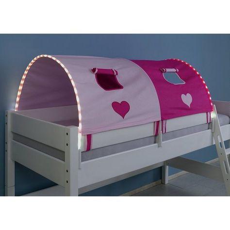 Tunnel Inkl Led Beleuchtung Zu Hoch Etagenbetten 150 Cm Kinder Bett Kinderbett Und Kinder Zimmer