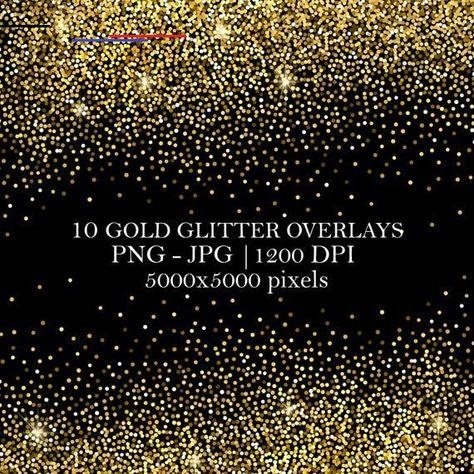 10 Gold Glitter Overlays Golden Texture Background Photoshop Overlays Glitter Backdrop Confetti Gol Photoshop Overlays Glitter Overlays Glitter Backdrop