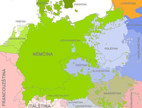 Languages Of Central Europe 1910 In 2020 Deutsche Sprache