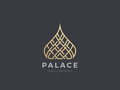 Arabic Palace Logo Education Logo Design Calligraphy Logo Oriental Logo