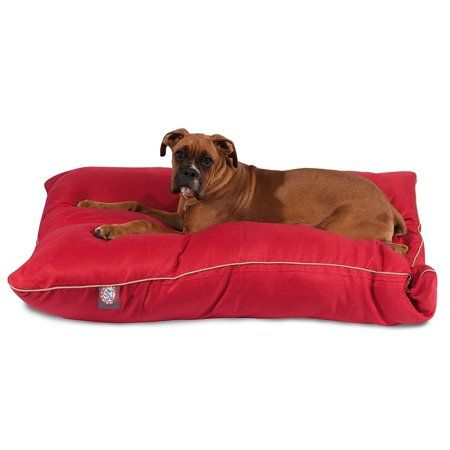 Pets Dog Bed Large Pet Beds Red Bedding