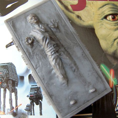 Han Solo Carbonite Soap from Luxury Lane Soap #StarWars