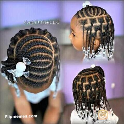 Little Girls Natural Hairstyles, Little Girl Braid Hairstyles, Toddler Braided Hairstyles, Black Kids Hairstyles, Baby Girl Hairstyles, Beautiful Hairstyles, Little Girl Braid Styles, Kid Braid Styles, Little Girl Braids
