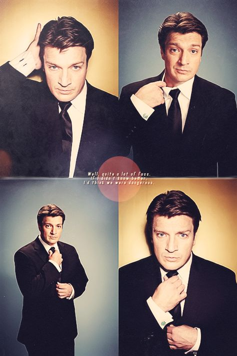 100 Nathan Fillion, Oh Captain my captain. King of the