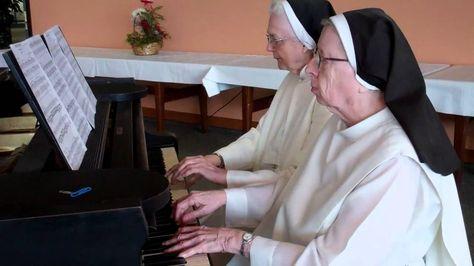 Nuns Play Happy Birthday On Piano