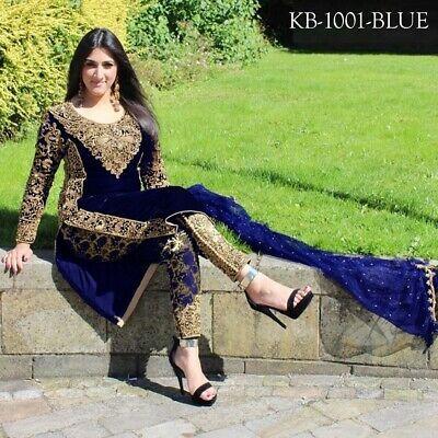 Designer Salwar Kameez Bollywood Ethnic Anarkali Party Wear Shalwar Kameez KB
