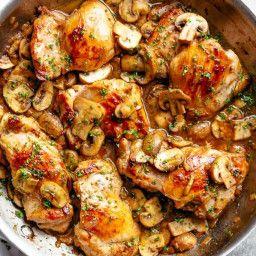 Chicken Thigh And Mushroom Recipes