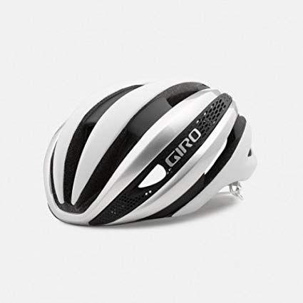 Giro Synthe Matte White Silver Aero Road Bike Helmet Large Review Cycling Helmet Bike Helmet Bicycle Helmet