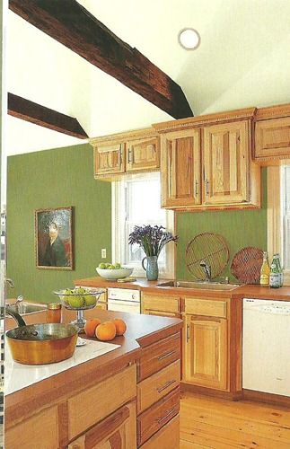 Paint Colors That Go With WOOD {trim And Cabinets} My Favorite Neutral Paint  Colors  I Really Like This Green!!   Home Ideas   Pinterest   Neutral Paint  ...