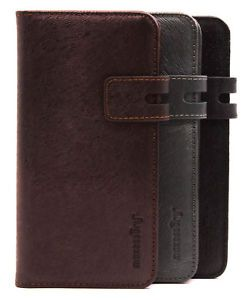 big sale 78449 dd75a Details about Real Leather Card Holder Wallet Cover Case for Apple ...