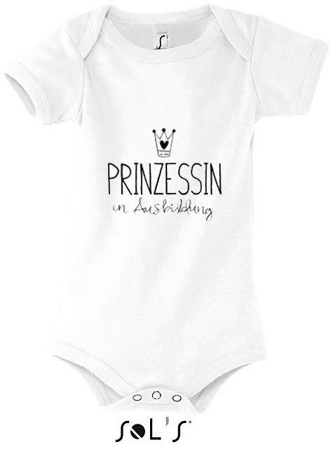 Baby Body Sol S Kurzarm Weiss Bedruckt Baby Einteiler Britische Babynamen Baby Body Spruche