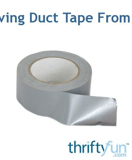 Removing Duct Tape From A Car Duct Tape Remove Duct Tape