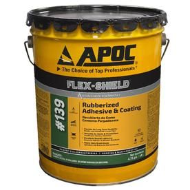 Apoc Flex Shield Ultra 4 75 Gallon Waterproof Roof Sealant Lowes Com Roof Sealant Roof Coating Roof Waterproofing