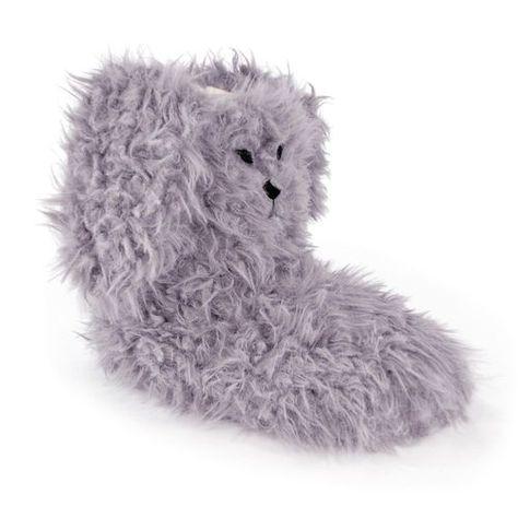 Slumberzzz Kids Elasticated Back Full Slipper with Animal Design