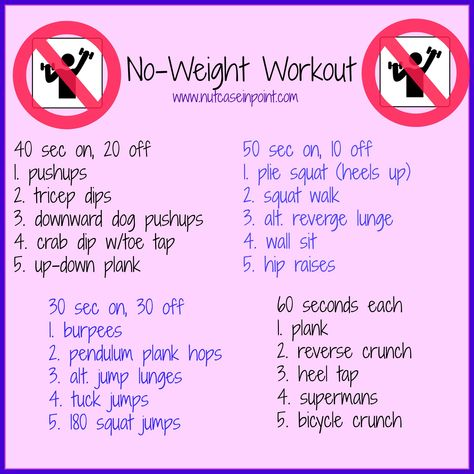 free upper body workout plan no equipment   Ok, maybe you need 2 things: a floor and a wall. Pretty sure those are ...