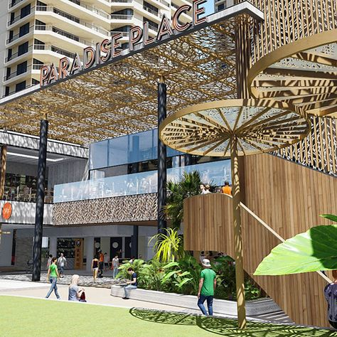 Scott Carver | Paradise Centre: External Works | Surfers Paradise, QLD | Architecture + Landscape Architecture by Scott Carver