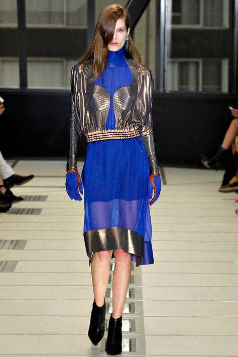 ae1dac4254629 Balenciaga Fall 2012 Ready-to-Wear Fashion Show - Caroline Brasch Nielsen ( Elite)