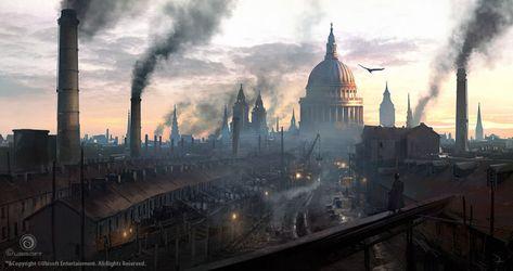 The Art Of Assassin S Creed Syndicate Empire Britannique Age