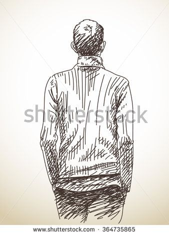 Image Result For Drawing The Backs Of Males Heads Guy Drawing Outline Drawings Art Drawings Simple