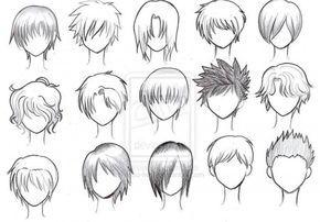 How To Draw Anime Tutorial With Beautiful Anime Character Drawings Anime Character Drawing Anime Boy Hair Manga Hair