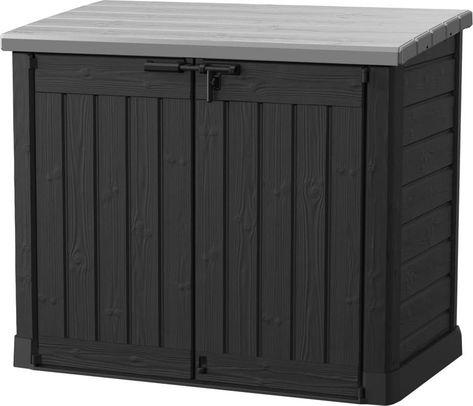 Keter Auflagenbox Gartenbox Gartentruhe Kissenbox Gartenmobel Beistelltisch Spielzeugkiste Garten Box Kissentr Aufbewahrungsbox Aufbewahrung Garten Kissentruhe