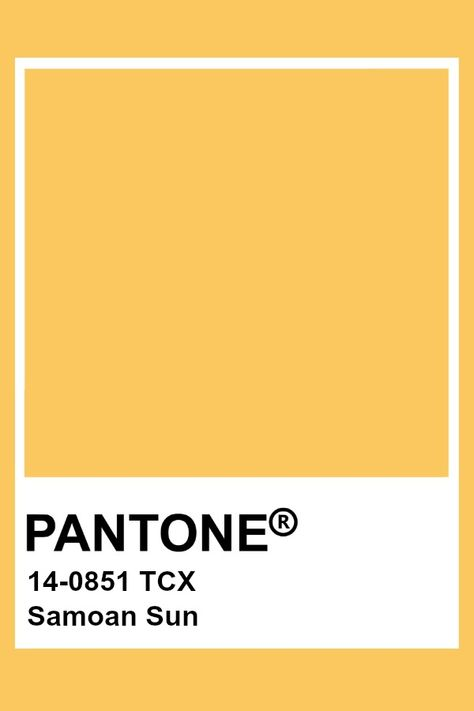 Pantone Samoan Sun