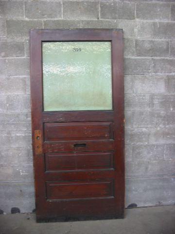 Second Use Seattle >> Vintage Office Half Lite Door Second Use Seattle
