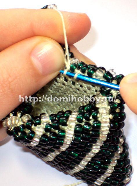 вязание с бисером чехол для телефона Süs Pinterest бисер