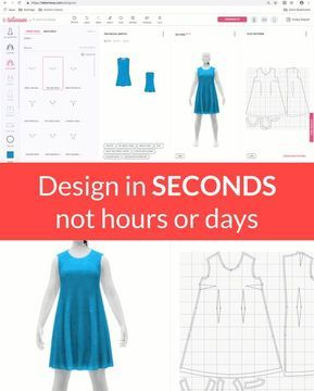 Now Anyone Can Design Custom Garments In Seconds With Tailornova Clothing Design Software Clothes Design Fashion Design Software