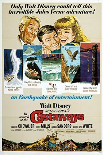 In Search of the Castaways (1962) - IMDb | Disney in 2019