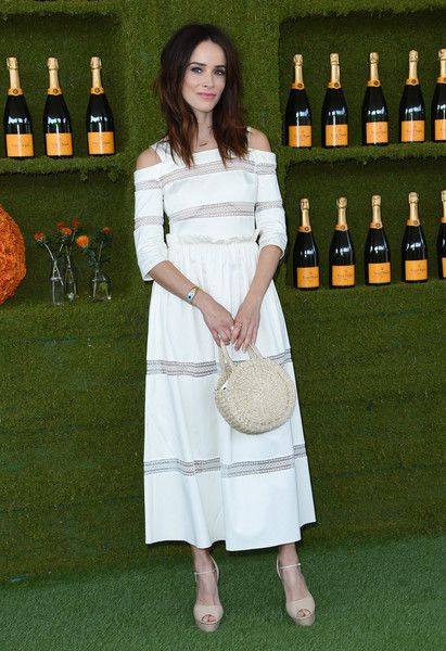 Abigail Spencer attends the 8th annual Veuve Clicquot Polo Classic.