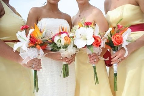 Beach Wedding Bouquets Flower S I Hear Those Church Bells Ringing Pinterest Weddings And Centerpieces