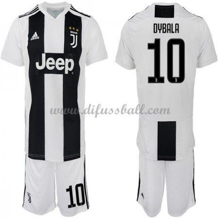 Juventus Fussballtrikots Kinder 2018 19 Paulo Dybala 10 Heim Trikotsatz Kurzarm Soccer Jersey Jersey Juventus Soccer