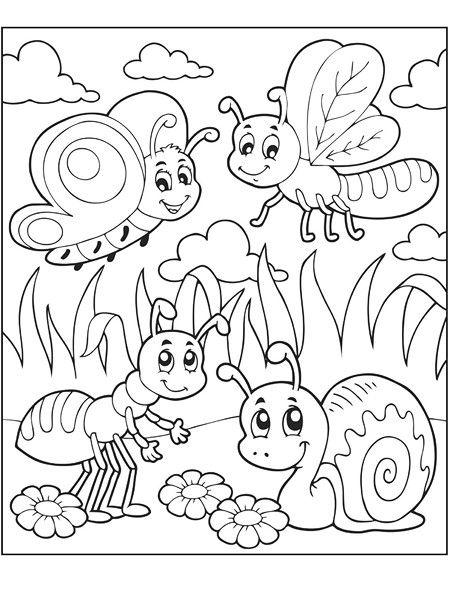 Bu Sayfada Hayvanlar Temalı Eğlenceli Boyama Sayfaları Yer