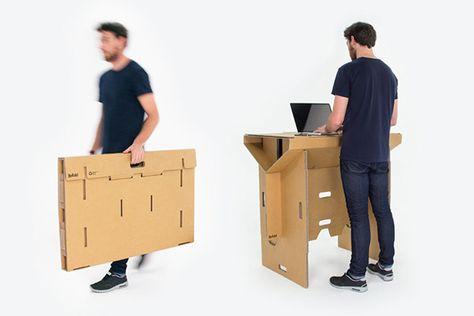 Luxury au ergew hnliche m bel tisch sitz refold M bel M beldesign Pinterest Cardboard boxes and Box