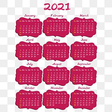 Calendario 2021 Em Molduras Rosa Calendario 2021 Calendario Anual 2021 Imagem Png E Vetor Para Download Gratuito Pink Calendar 2021 Calendar Wedding Photo Album Layout